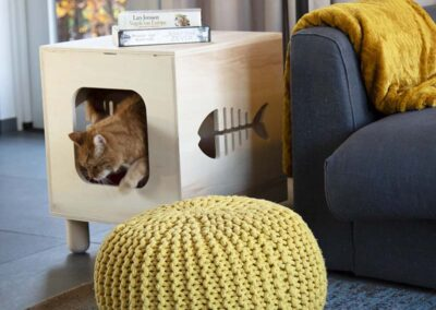 lourens woodworks_kattenhuis karo