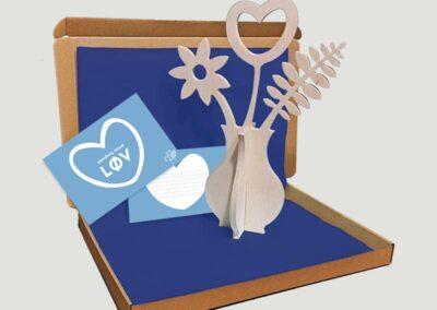 lourenswoodworks brievenbuscadeau sendinglov blauw sfeer beeld